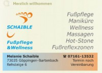 Schaible Fußpflege & Wellness