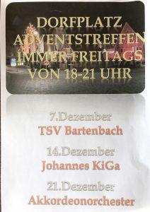 TSV Adventstreffen @ Dorfplatz | Göppingen | Baden-Württemberg | Deutschland