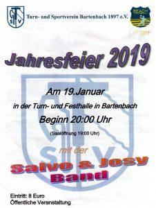 TSV Jahresfeier @ Turn- und Festhalle Bartenbach | Göppingen | Baden-Württemberg | Deutschland